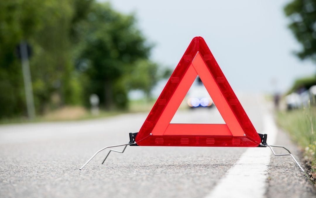 Absichern der Unfallstelle